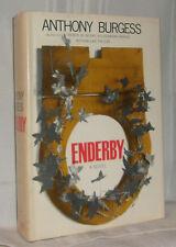 Anthony Burgess ENDERBY A Novel 1968 First ed Poet Murder suspect HC DJ Nice