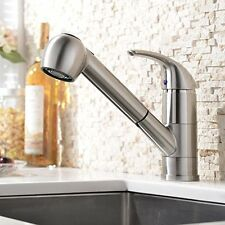 NEW Single Handle Pull Out Sprayer Bar Kitchen Sink Faucet Small Pull Down Sink