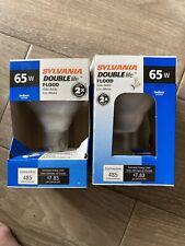 Sylvania 65W Doublelife Floodlight S90218 (set of 2 bulbs)