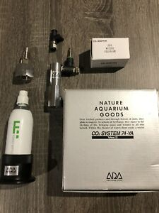 ADA C02 System  74-YA Ver.2 Plus Stand, Co2 Adapter And Ball Stop Valve. All ADA