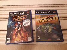 LOTE PLAYSTATION 2 PS2 SPAWN ARMAGEDDON + JUICED PAL ESPAÑA