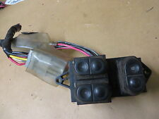 FORD MUSTANG COUPE 87 DRIVER POWER WINDOW POWER DOOR LOCK SWITCH w/ CONNECTORS
