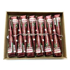 15 x  Darkest Maroon HENNA Temporary Tattoo CONES -  100% NATURAL