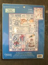Candamar Designs Cross Stitch Chart Pack To Have & To Hold 51460