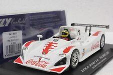FLY A504 LOLA B98/10 FIA SRWC 2001 NEW 1/32 SLOT CAR IN DISPLAY CASE