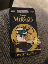 Disney - The Little Mermaid 30th Anniversary 2019 Scuttle & Flounder Pin Le 5000