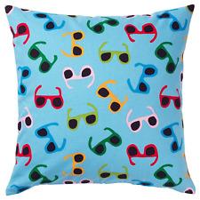 IKEA SOMMAR 2019 Cushion Cover Ikea Summer Blue with Sunglasses - NEW