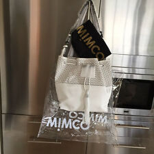 MIMCO CATALYST POUCHE large WHITE + MIMCO lge CLEAR TOTE & D'bag rrp499 Sale$299
