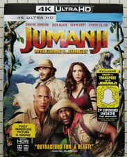 Jumanji: Welcome to the Jungle (4K UHD Bluray + Slipcover) No Reg Bluray