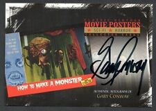 Movie Posters 2010 Sci-Fi & Horror Breygent Autograph Card #Sh-Gc Gary Conway