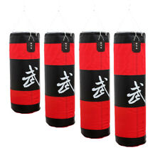 Unfilled Heavy MMA Muay Thai Boxing Bag Punching Kicking Gym Training Sandbag