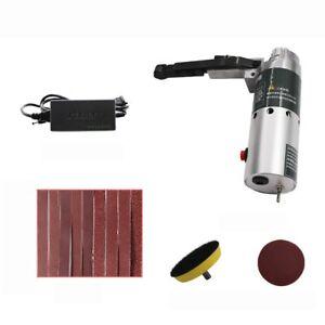 Mini Electric Belt Sander DIY Polishing Machine Constant Angle Tool Sharpener