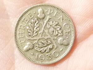 1930 Threepence 3d George V   #M58