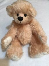 Heather Stanley 2003  Bear # 1  Of 12 Limited Edition Joy Mohair Glass Eyes