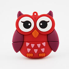 Cute Owl bird animal kids 8GB USB 2.0 novelty flash drive memory stick