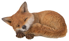 Vivid Arts - REAL LIFE WOODLAND ANIMALS - Sleeping Fox Cub
