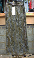 Joseph Ribkoff BNWT 10 Fabulous Animal Print Trousers with Sheer Overlay US 8