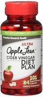 Ultra Apple Lean Cider Vinegar Diet Complex Supplement, 101 Capsules each