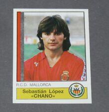 137 CHANO RCD MALLORCA PANINI LIGA FUTBOL 87 ESPAÑA 1986-1987 FOOTBALL