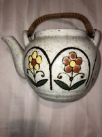 VINTAGE HAND CRAFTED OTAGIRI ORIGINAL JAPAN TEA POT. Floral