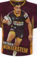 2009 NRL Select Classic Die Cut BRISBANE BRONCOS ANTONIO WINTERSTEIN JDC4 CARD