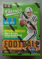 Panini Football Classics NFL Blaster Box 2018 1 Swatch Card per Box
