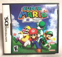 Super Mario 64 DS (Nintendo DS, 2004) CIB - Tested & Works