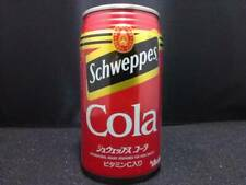 Used Schweppes Cola Unopened Can Red Asahi Japan Soda Pop Coke Vintage Bottles