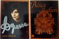 TWILIGHT : NEW MOON UPDATE Autograph Card ALICE CULLEN Ashley Greene NECA 2009