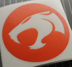 Thundercats logo vinyl sticker - RED - Cartoon Retro TV Animation