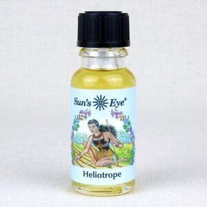 Heliotrope - Oil by Sun's Eye  1/2 oz          ~Aromatherapy