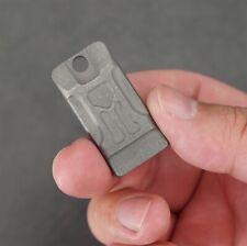 TwoSun Mini Lifesaving Emergency Survival SOS TC4 Ti Titanium Whistle TS-WS02