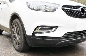 Front Fog Light Lamp Cover 2pcs For Buick Encore / Vauxhall Opel Mokka 17 - 18