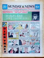 New York Sunday News - 12 page color comic section - DIck Tracy - May 30, 1971