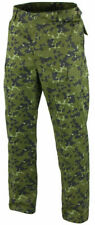 DANISH MILITARY CAMOUFLAGE BDU PANTS MILITARY CARGO 6 POCKET FATIGUE TROUSERS