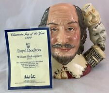 Royal Doulton Toby Character Jug D7136 William Shakespeare