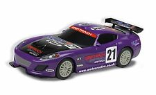 C3475 Scalextric GT Lightning (Purple) Solo Race Car w/ Decals Magnatraction New