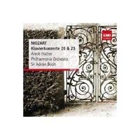 Mozart: Piano Concertos 20 & 23 CD Remasterisé Neuf / Scellé Annie Fischer Boult