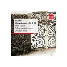 MOZART: Piano Concertos 20 & 23 remastered CD NEW/SEALED ANNIE FISCHER BOULT