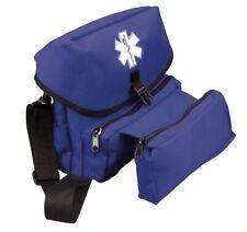Blue EMT EMS Medical Field Kit Bag Medic Pack Star Of Life Logo Rothco 2443