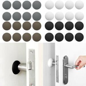 12 Wall Protector Self Adhesive Rubber Stop Door Handle Bumper Guard Stopper 4cm