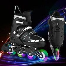 NEW Adjustable Inline Skates Roller Blades Adult Size 8-10.5 Breathable a e 42