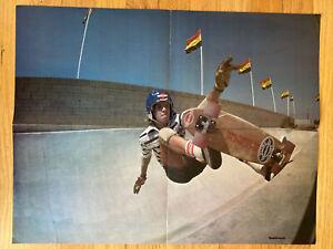 Chris Strople Sims Skateboards Buena Park California Skatopia Park Poster 1977