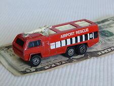 "CORGI CHUBB Airport Rescue, Vtg 3"" Diecast Metal Toy Fire Truck, Great Britain"