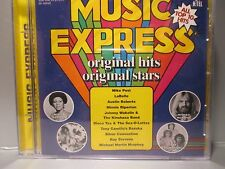 Music Express by Various Artists (CD, Aug-1996, K-Tel Distribution) Brand New