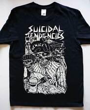 SUICIDAL TENDENCIES skate skull T-shirt Cyco Miko D.R.I. Lethal Aggression S.O.D