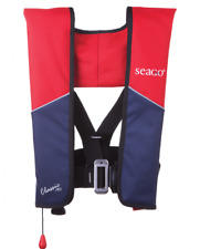 Seago 190N Classic Lifejacket Automatic Harness Red Navy