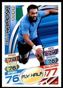 Topps Rugby Attax 2015 - Kelly Haimona Italy No. 87
