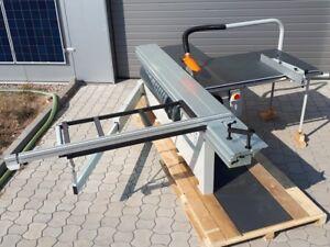 Formatkreissäge 3200mm D315mm 4kW m Vorritzer Ausleger Tischkreissäge Formatsäge