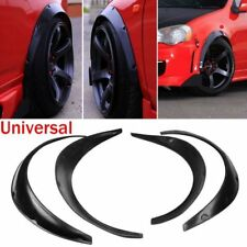 4pcs Universal Widened JDM Fender Flares Wheel Arch 2 inch ABS Car Fittings MG